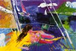 leroy neiman original paintings - jour du soleil by leroy neiman