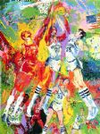 chinese acrylic paintings - kentucky wildcats by leroy neiman