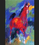 leroy neiman original paintings - khemosabi by leroy neiman