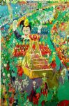 mardi gras parade by leroy neiman famous paintings