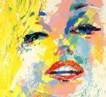 leroy neiman original paintings - marilyn monroe by leroy neiman