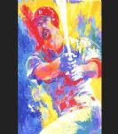 mark mcgwire by leroy neiman painting