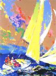leroy neiman normandy sailing prints