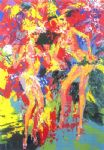 passistas by leroy neiman painting
