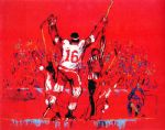 red goal by leroy neiman paintings