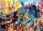 regatta of the gondoliers by leroy neiman painting