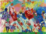 rivalry ohio state buckeye suite by leroy neiman painting