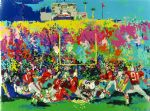 owl watercolor paintings - rosebowl ohio state buckeye suite by leroy neiman