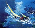 sailing by leroy neiman paintings