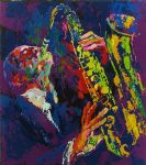 sax man by leroy neiman paintings