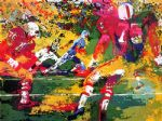 scramble by leroy neiman painting