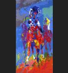 secretariat ii by leroy neiman painting