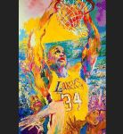 shaq by leroy neiman paintings