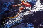 surfer by leroy neiman painting