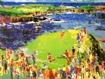 the 16th at cypress by leroy neiman famous paintings