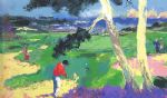 leroy neiman the 1st at spyglass painting