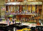 leroy neiman famous paintings - the 21 club by leroy neiman