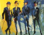 leroy neiman the beatles painting 83341