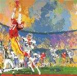 leroy neiman the catch painting