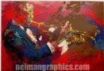 leroy neiman the jazz player painting 83768
