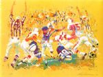 touchdown by leroy neiman painting
