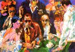 leroy neiman vegas blackjack prints