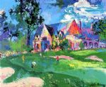 leroy neiman winged foot oil paintings