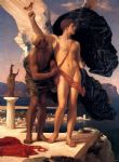 lord frederick leighton famous paintings - daedalus and icarus by lord frederick leighton