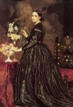 lord frederick leighton famous paintings - mrs james guthrie by lord frederick leighton