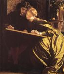 lord frederick leighton the painter s honeymoon painting