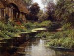 summer afternoon by louis aston knight painting