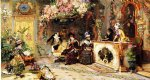 the flower shop by luis alvarez catala painting