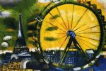 marc chagall original paintings - la grande roue by marc chagall
