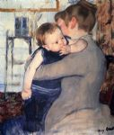 mother and child by mary cassatt oil paintings