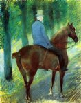 mary cassatt mr. robert s. cassatt on horseback print