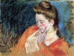 mary cassatt portrait of a young woman painting-28952