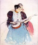 the banjo lesson 1893 by mary cassatt posters