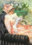 the cup of tea by mary cassatt posters