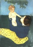 mary cassatt the horse chestnut painting 29069