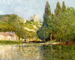 le chateau by maxime maufra painting