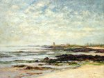 low tide baie de quiberon by maxime maufra painting