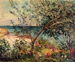 monsieur maufra s garden by the sea by maxime maufra painting