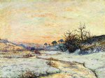 maxime maufra morning in winter vallee du ris douardenez painting
