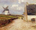 near the mill by maxime maufra painting