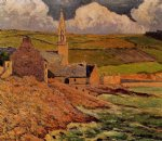 saint michel s church by maxime maufra painting