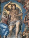 the last judgement christ the judge by michelangelo buonarroti posters