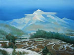molici originals landscape Distant mountains 2010 art