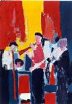 jazz musicians by nicolas de stael painting