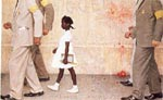 norman rockwell famous paintings - the problem we all live with by norman rockwell