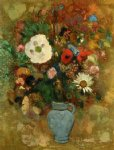 odilon redon bouquet of flowers iv painting-28519